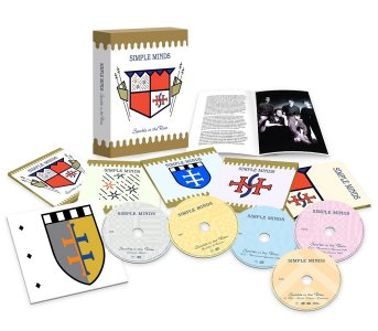 Simple Minds - Sparkle in the Rain collectors edition box set